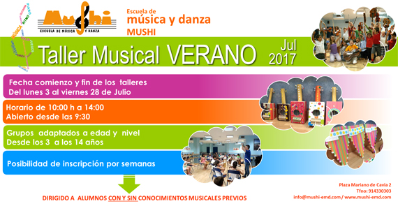 Campamento Urbano Música 2017