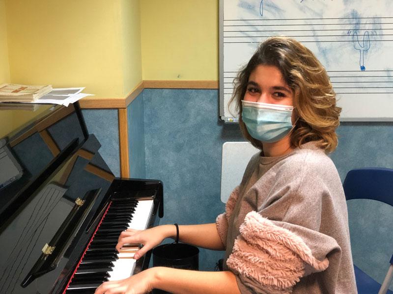 Irene de la vega profesora piano